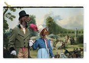 German Shorthaired Pointer - Kurzhaar Art Canvas Print - The Summer Party Carry-all Pouch
