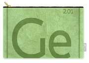 Germanium Element Symbol Periodic Table Series 032 Carry-all Pouch