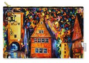 Germany - Medieval Rothenburg Carry-all Pouch