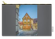 Germany - Half-timbered Houses And Alleys In Quedlinburg Carry-all Pouch