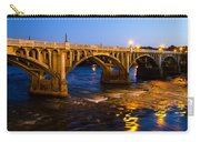 Gervais Street Bridge At Twilight Carry-all Pouch