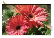 Gerberas In Coral Pink 2 Carry-all Pouch