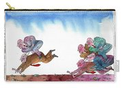 Get Ready For Corporate  Horse Racing Carry-all Pouch