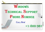 Get Technical Support For Windows Carry-all Pouch