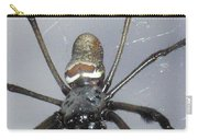 Getting To Know A Golden Orb Weaver Carry-all Pouch