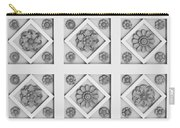 Getty Villa Coffered Peristyle Ceiling Carry-all Pouch by Teresa Mucha