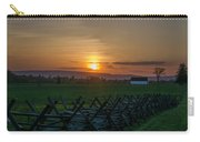 Gettysburg At Sunset Carry-all Pouch