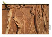 Gettysburg Bronze Relief Carry-all Pouch