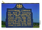 Gettysburg Campaign Carry-all Pouch