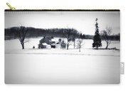Gettysburg Farm In Winter Carry-all Pouch