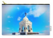 Gettysburg Memorial In Winter Carry-all Pouch