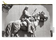 Gettysburg National Park 17th Pennsylvania Cavalry Monument Carry-all Pouch