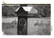 Gettysburg National Park 6th Wisconsin Iron Brigade Monument Carry-all Pouch