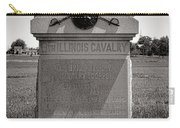 Gettysburg National Park 8th Illinois Cavalry Monument Carry-all Pouch