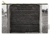 Gettysburg National Park Army Of The Potomac Third Division Monument Carry-all Pouch