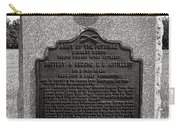 Gettysburg National Park Army Of The Potomac Second Brigade Horse Artillery Carry-all Pouch