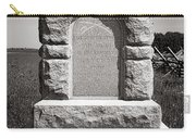 Gettysburg National Park Third West Virginia Cavalry Monument Carry-all Pouch