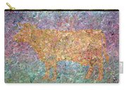 Ghost Of A Cow Carry-all Pouch by James W Johnson