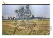 Ghost Of Gettysburg Carry-all Pouch by Randy Steele