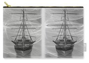 Ghost Ship - Gently Cross Your Eyes And Focus On The Middle Image Carry-all Pouch