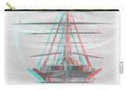 Ghost Ship - Use Red-cyan 3d Glasses Carry-all Pouch