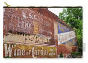 Ghost Signs In Radford Virginia Carry-all Pouch by Kerri Farley