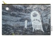 Ghost Town Boot Hill Carry-all Pouch
