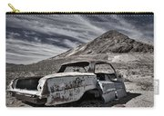 Ghost Town Junked Car Carry-all Pouch