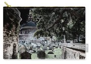 Ghostly Cemetary Carry-all Pouch