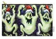 Ghostly Christmas Trio Carry-all Pouch