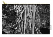 Ghostly Roots - Bw Carry-all Pouch