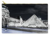 Ghosts Of The Louvre Museum  Art Carry-all Pouch
