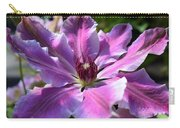 Giant Clematis Carry-all Pouch