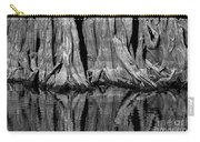 Giant Cypress Tree Trunk And Reflection 2 Carry-all Pouch