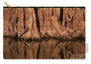 Giant Cypress Tree Trunk And Reflection Carry-all Pouch