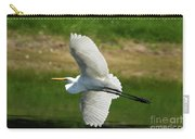 Giant Egret Grace Carry-all Pouch