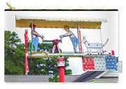 Giant Folk-art Weathervane 2 Carry-all Pouch