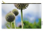 Giant Globe Thistle Carry-all Pouch
