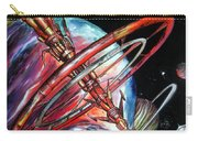 Giant, Old Red Space Shuttle Of Alien Civilization Carry-all Pouch