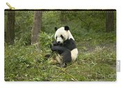 Giant Panda Eating Bamboo Carry-all Pouch