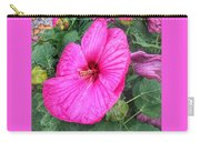 Giant Pink Hibiscus Carry-all Pouch