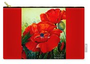 Giant Poppies 3 Carry-all Pouch