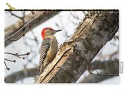 Giant Red Headed Woodpecker  Carry-all Pouch