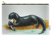 Giant River Otter Carry-all Pouch