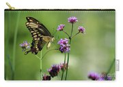Giant Swallowtail Butterfly On Verbena Carry-all Pouch