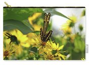 Giant Swallowtail Wings Folded Carry-all Pouch