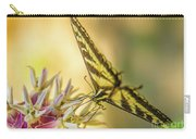 Giant Swallowtail With Yosemite Showy Milkweed Carry-all Pouch