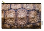Giant Tortoise Carapace Carry-all Pouch