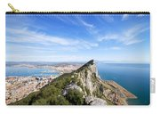 Gibraltar Rock Bay And Town Carry-all Pouch