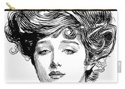 Gibson Girl, 1900 Carry-all Pouch
